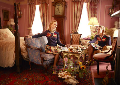 Simon Procter, 'Gemini Summer - TEA (Seven portraits of the actress Saoirse Ronan)'