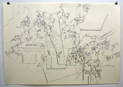 Yukari Bunya, '05. Drawing - Looking at the Scenery Alive', 2010