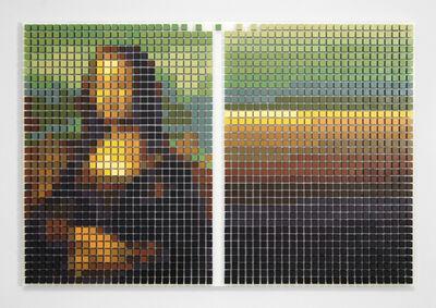 Tyler Bohm, 'Mona Lisa Defragged', 2018