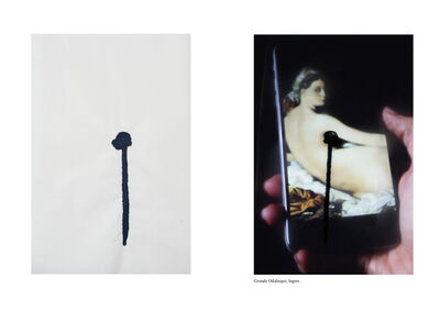 Johanna Reich, 'The Ethics of Coding Famous Artworks censored by Facebook between 2011-2019 Grande Odalisque, Ingres', 2019