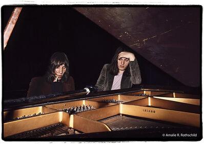 Amalie R. Rothschild, Jr., 'Roger Waters and David Gilmour Backstage at Fillmore East, September 27, 1970', 1970