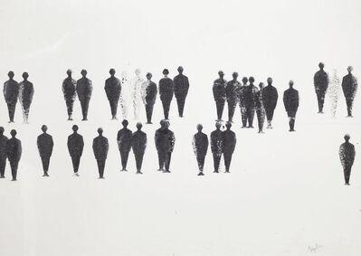 Renato Mambor, 'Uomini Timbro', 1963