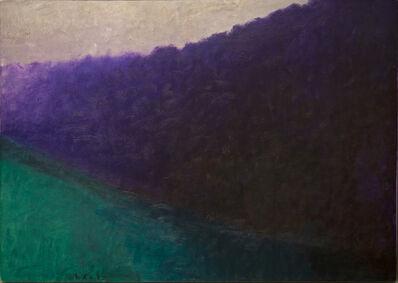 Wolf Kahn, 'Dark Complementaries II', 1990