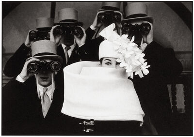 Frank Horvat, 'Paris, for Jardin des Modes, Givenchy Hat B ', 1962