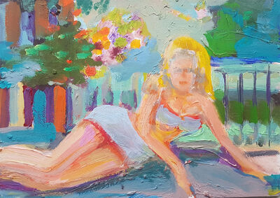 Stephen Lack, 'Pin-Up Girl', 2014