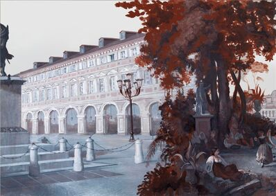 Rachel Feinstein, 'Panorama of Rome 2012 (panel 7)', 2012