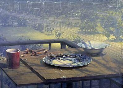 Daniel Sprick, 'Still Life with Landscape', 2021
