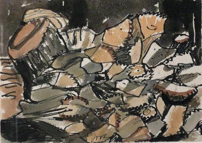 "Arthur Garfield Dove, 'STUDY FOR ""WOODPILE""', 1938"