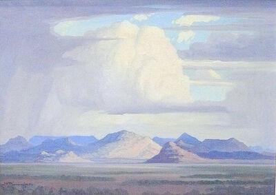 JH Pierneef, 'Landscape '