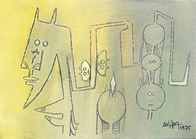 Wifredo Lam, 'The Family (La Familia)', 1975