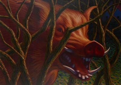 Leonard Koscianski, 'Red Boar', 1986