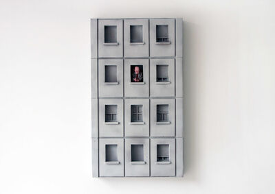 Isaac Cordal, 'Neighbours 1', 2019