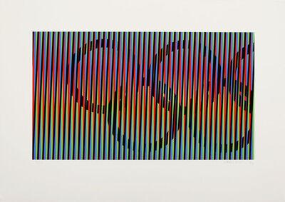 Carlos Cruz-Diez, 'Inducción cromática', 1992