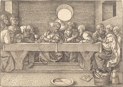 Albrecht Dürer, 'The Last Supper', 1523
