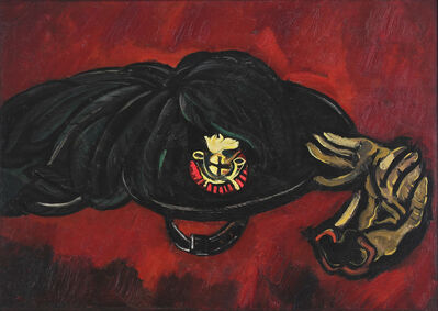 Marsden Hartley, 'Insignia with Gloves', 1936