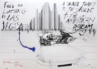 Ralph Steadman, 'Fear and Loathing', 2016
