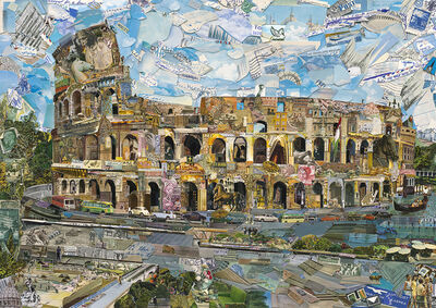 Vik Muniz, 'Rome - Postcards from Nowhere', 2014