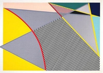 Roy Lichtenstein, 'Imperfect Painting ', 1988