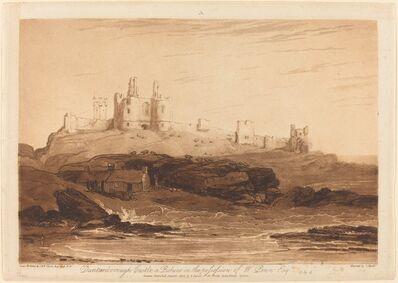 J. M. W. Turner, 'Dunstanborough Castle', published 1808