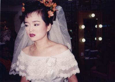 Bertien van Manen, 'Bride with red flowers', 1997-2001