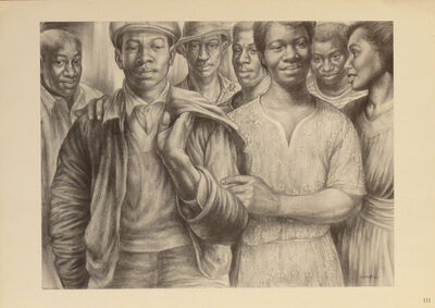 Charles White, 'Let's Walk Together', 1953