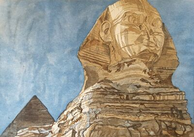Philip Pearlstein, 'The Sphinx', 1979