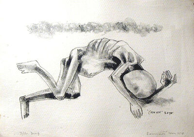 Somnath Hore, 'Famine - 1', 1978