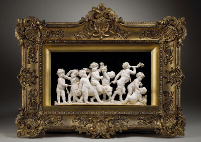 Gérard Van Opstal, 'A Procession of Putti with the Infant Bacchus Riding a Panther, Led by a Young Satyr', 1633-1668