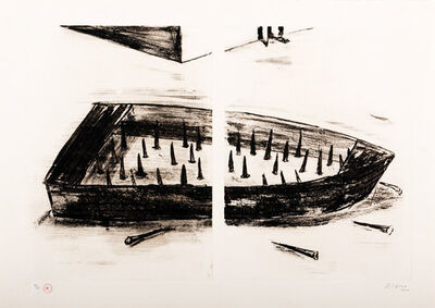 K'cho, 'Boat with thorns', 2003