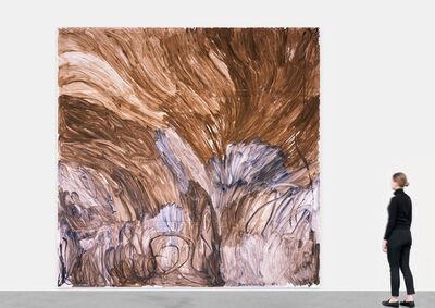 Zhang Enli 张恩利, 'Brown', 2014