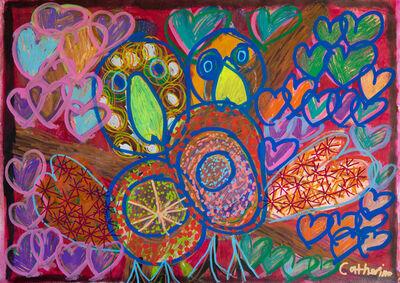 Catherine McGuiness, 'Birds Hearts', 2018