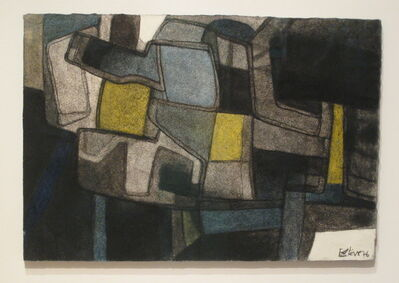 Maurice Estève, 'D-1972', 1976
