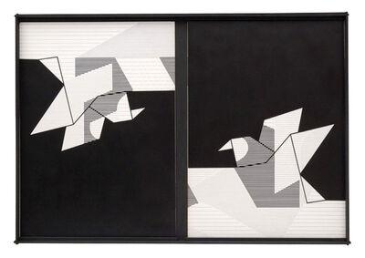 Nelson Leirner, 'Uma linha dura não dura', 1977-1978