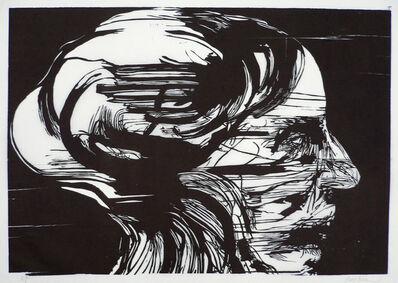 Leonard Baskin, 'Agonized', 1969