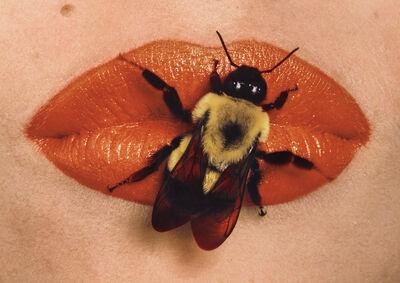 Irving Penn, 'Bee on Lips, New York', 1995