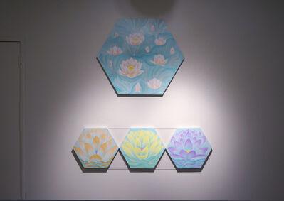"Jin Sil Kim, '(Top) ""My Lotus H2', 2017"