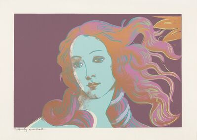 Andy Warhol, 'Sandro Botticelli, Birth of Venus (F&SII.317)', 1984