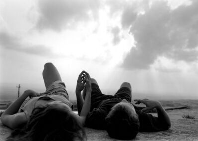 Mark Steinmetz, 'Stone Mountain, GA (couple lying on rock)', 1994