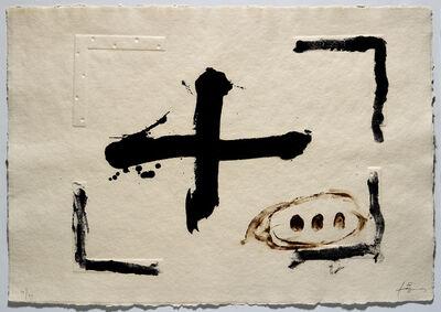 Antoni Tàpies, ''Relleu i creu'', 2003