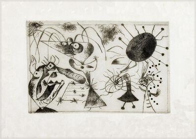 Joan Miró, 'Serie Noire et Rouge (black ink)', 1938