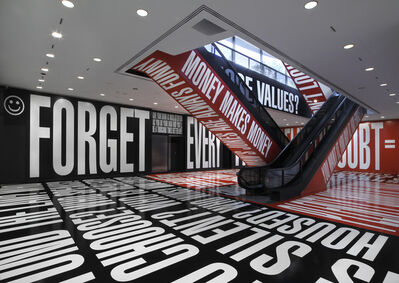 Barbara Kruger, 'Belief+Doubt', 2012