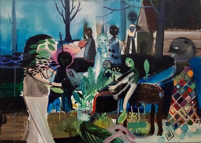 Silvia Argiolas, 'Me Una Falsa Primavera', 2013