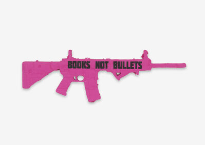 Andrea Bowers, 'Books Not Bullets: Ode to CODEPINK (Santa Barbara)', 2018