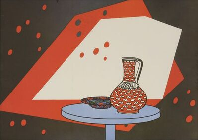 Patrick Caulfield, 'Red and White Still Life', 1966