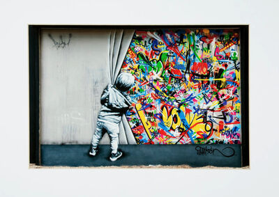 Martin Whatson, 'Behind the Curtain (Wynwood Walls Edition', 2018