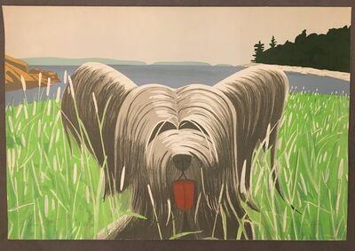 Alex Katz, 'Dog at Ducktrap', 1975