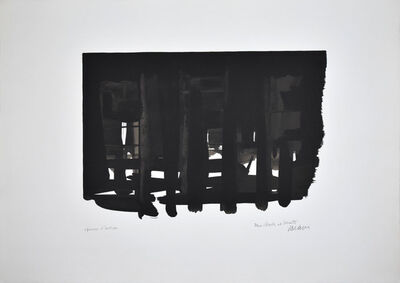 Pierre Soulages, 'Lithographie n°16', 1964