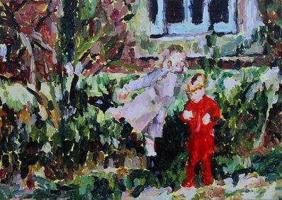 Fanie Buys, 'Joyful Painting (Princess Diana with One Eye, an Unintentionally Meaningful Gesture)', 2019