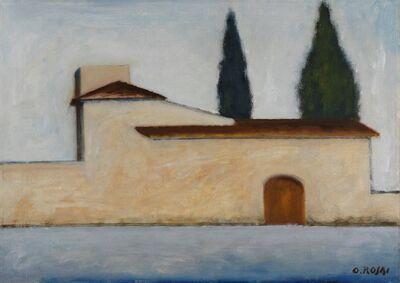 Ottone Rosai, 'Il convento', 1955