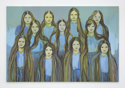 Claire Tabouret, 'The Blue Sentinels', 2016